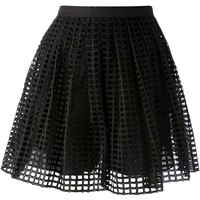 Carven Netted Skirt