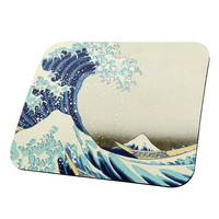 Great Wave Tsunami Japanese Painting All Over Mouse Pad
