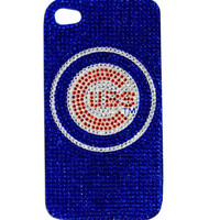 Chicago Cubs iPhone Case - Glitz 4G Faceplate