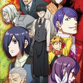 Premium Wall Scroll - Tokyo Ghoul - New Characters Anime Art Licensed ge81162