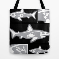 Shark X-Ray Tote Bag by Raven Jumpo