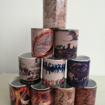 Lord of the Rings - Heat Changing Mugs
