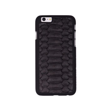 Black Matte Python iPhone 6/6s + Case