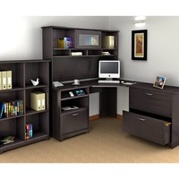 Cabot Corner Desk Suite and File and Bookcase Home Office Furniture Office Desk