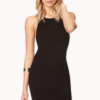 Dynamite Zippered Bodycon Dress