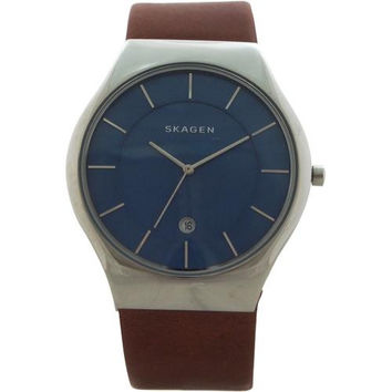 Skagen - SKW6160 Grenen Leather Watch Watch 1 piece