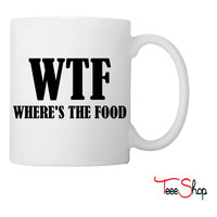Wheres The Food Coffee & Tea Mug