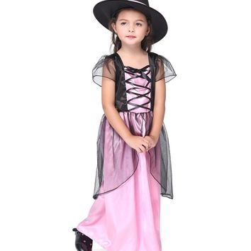 3 Piece Girl  Witch Dress and Hat