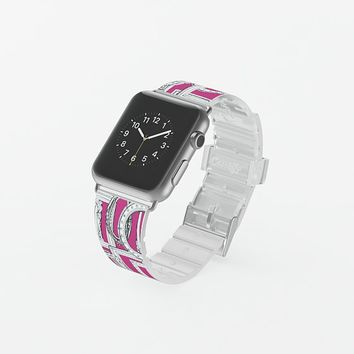 picture frames aplenty fuchsia watch band Apple Watch Band (38mm) by Sharon Turner | Casetify
