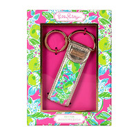 Lilly Pulitzer Key Fob- Pink Lemonade