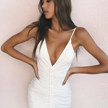 Buy Our Sasha Dress in White Online Today! - Tiger Mist