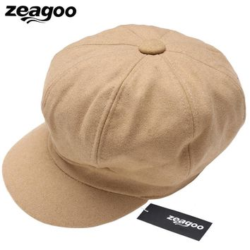 Trendy Winter Jacket Zeagoo New Women Casual Baseball Cap Dad Hat Deus Cap Pink Black Lady Ovo Drake Hats Snapback Suede Cap Trucker Cap Men AT_92_12