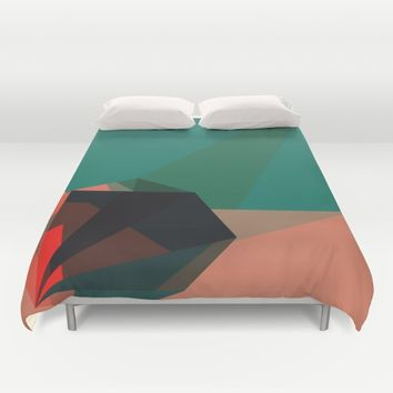 Shape Play 1 Duvet Cover by Ducky B