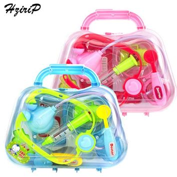 HziriP Doctor Toys Pretend Play Sets Children Medicine Box Role Play Educational Baby Toy Doctor Kit Kids Children Gifts 3 Color