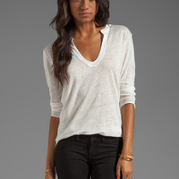 Nation LTD Pensacola Top in Winter White from REVOLVEclothing.com