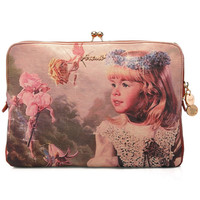 ROMWE | Romwe Oil Painting Angel Print Bag, The Latest Street Fashion