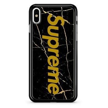 Supreme Marble iPhone X Case