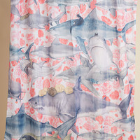 Jaws and Claws Shower Curtain