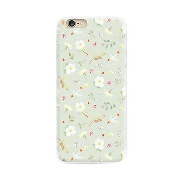 Iphone6-6s Creative Hand Painted Cell Phone Case Reliefs Soft Protective Cover