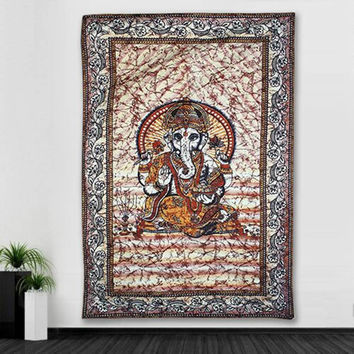 210X145cm Indian Mandala Bohemian Tapestry Polyester Vintage Bedspread Wall Hanging Dorm Cover Home Room Wall Ornament