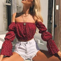 Women's Fashion Spaghetti Strap Hot Sale Summer Sexy Tops [1331232112756]