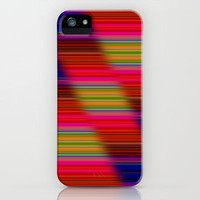 Staggered Colours iPhone Case by Lynn Bolt | Society6