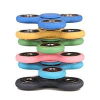 New Crack Fidget Spinner 6 Pack ADHD Stress Relief Anxiety Toys Best Autism Fidgets Hand spinners for Adults Children Finger Toy with Bearing Focus Fidgeting Restless Tri-spinner by SCIONE