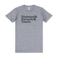 Beastie Boys Shirt -- Diamond & Horovitz & Yauch