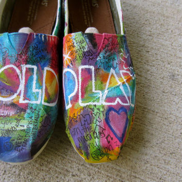 Custom Coldplay Shoes