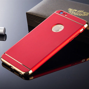 Red Phone Case For iPhone 7 7Plus 6 6s Plus 5 5s SE