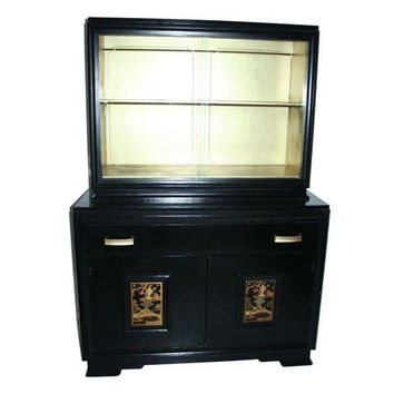 Pre-owned Vintage Chinoiserie Cabinet