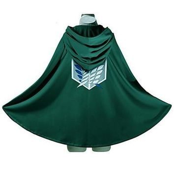 "Cool Attack on Titan  Recon Corp ""Wings of dom"" Cosplay Cape AT_90_11"