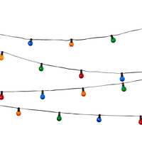 Party Outdoor String Lights, Multi, String Lights