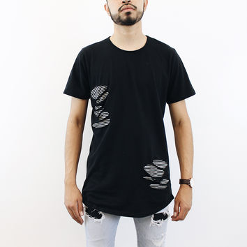 Tory distressed T-Shirt (Black)