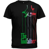 The Godfather - Italian Logo Soft T-Shirt