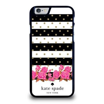 KATE SPADE NEW YORK FLORAL POLKADOTS iPhone 6 / 6S Case Cover