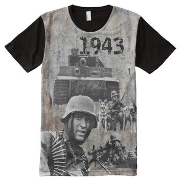1943 WW 2 GERMANY All-Over-Print SHIRT