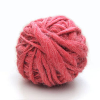 Dusty Pink Sister Yarn ~ Stunning Handspun Yarn, Soft, Cuddly, Slubby and Beautiful Wool Yarn