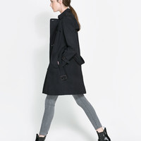TRENCH COAT WITH DETACHABLE LINING - Coats - Woman | ZARA United States