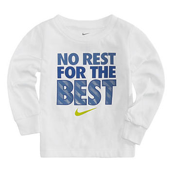 Nike Long Sleeve Crew Neck T-Shirt-Baby Boys - JCPenney