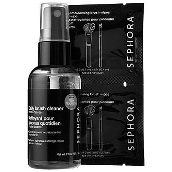 SEPHORA COLLECTION Hit Refresh Brush Cleaner Set (2 oz)