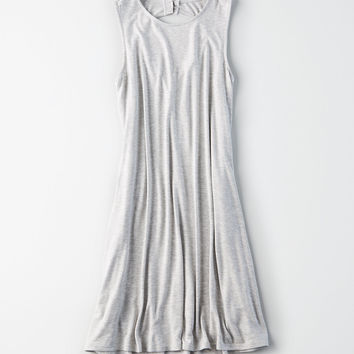 AE Knit Tank Dress, Gray