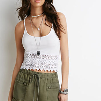 Drawstring Cuffed Shorts