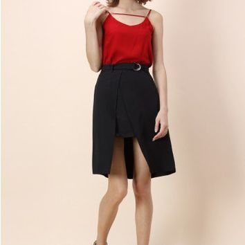 Glam Capture Cami Top in Red