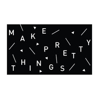 Make Pretty Things - Office Quote Wall Decals