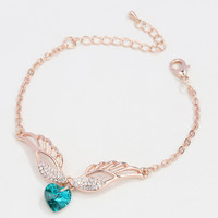New Arrival Gift Great Deal Awesome Shiny Hot Sale Crystal Bangle Stylish Simple Design Bracelet [6586245895]
