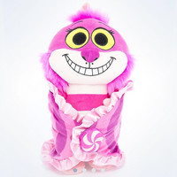"disney parks 10"" baby blanket cheshire cat plush new with tags"