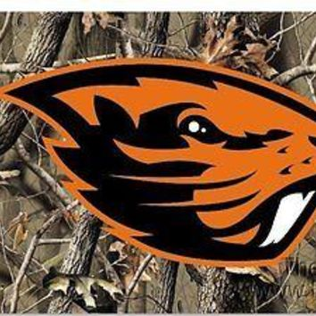 Oregon State Beavers NL CAMO REALTREE 3x5 Flag w/groomets Banner University