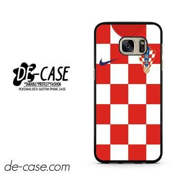 Croatia Soccer Jersey DEAL-2862 Samsung Phonecase Cover For Samsung Galaxy S7 / S7 Edg