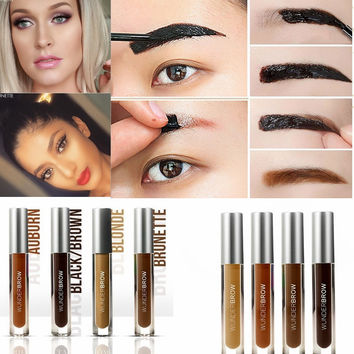 Semi-permanent waterproof anti-decolorizing magic eyebrow eyebrow paste / eyebrow cream